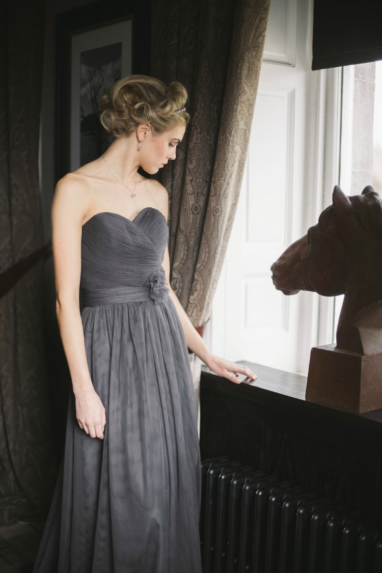 bridesmaid dress in grey.jpg