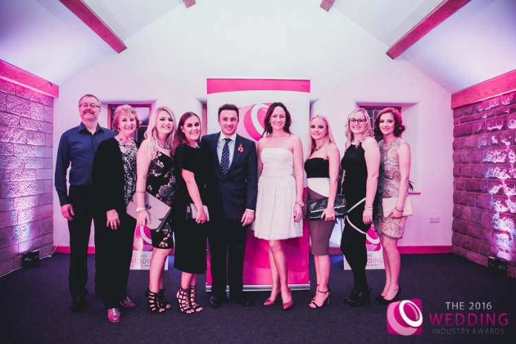 The Wedding Industry Awards 2016 Winning team.jpg