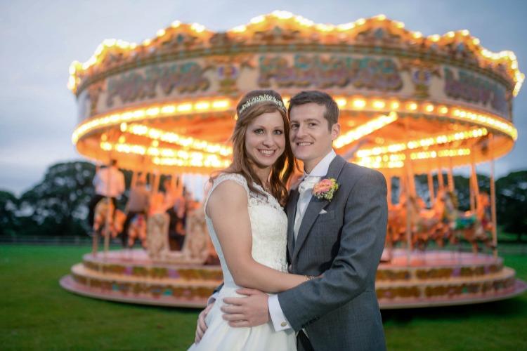 Joanna Rowsell and Daniel Shand Heaton House Farm Wedding carousel.jpg