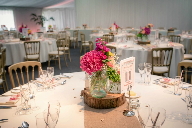 Joanna Rowsell and Daniel Shand Heaton House Farm Wedding table settings.jpg
