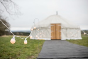 Wedding venue yurt