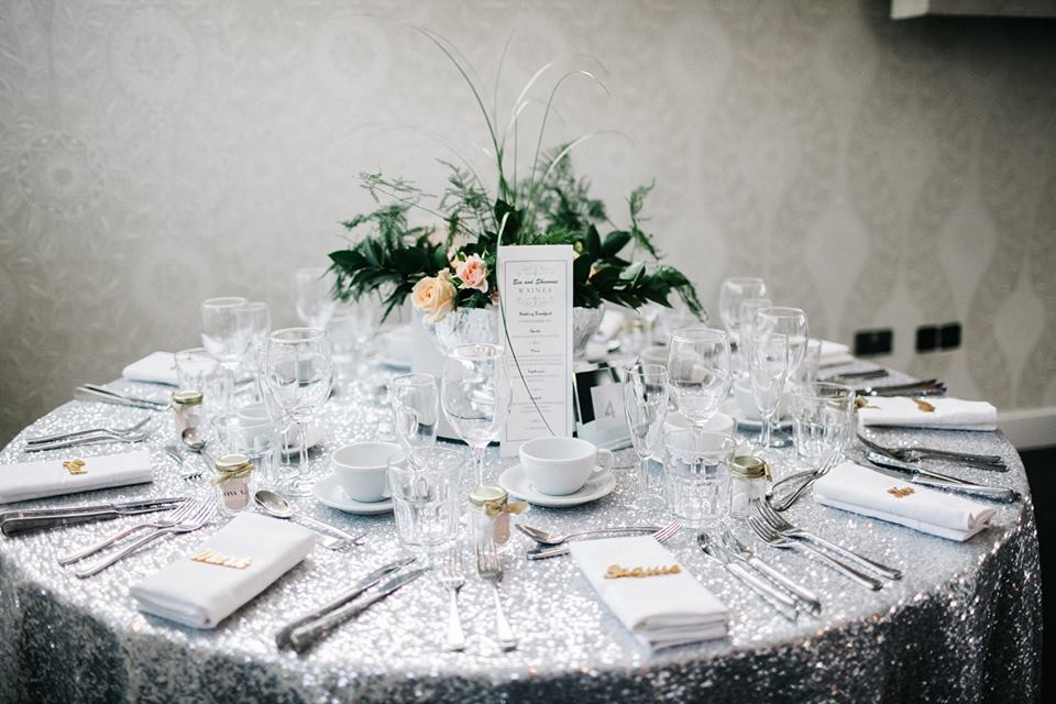 Pamella Dunn Weddings Silver Wedding Styling