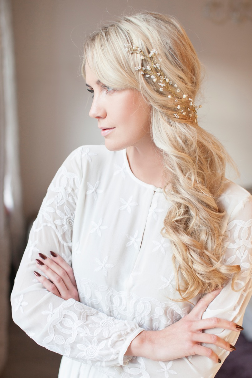 7 Ways To Wear A Hair Vine — And so to Wed