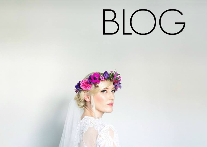 Photography by The Gibsons -Floral crown by Floral Menagerie