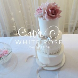White Rose Cake Design is based in West Yorkshire and creates stunning bespoke wedding cakes. Whether your style is vintage elegance or rustic, we'll be sure to create your dream cake for your special day.