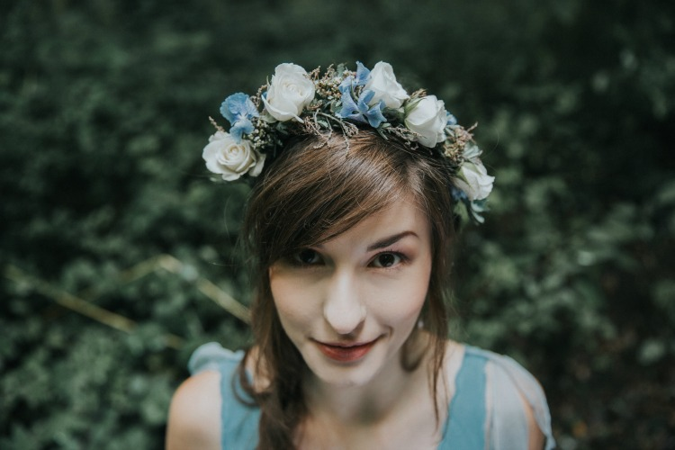 Alice in Wonderland wedding floral crown.jpg