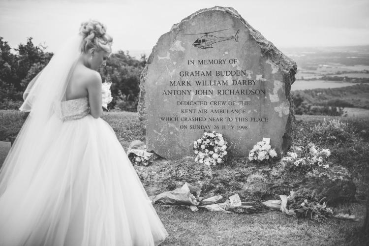 Wedding Photography Sarah Wayte bride memorial.jpg