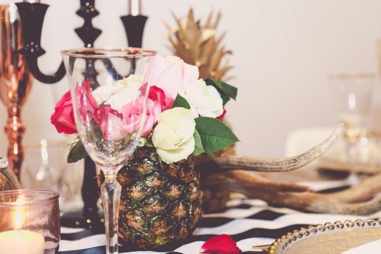 Gold wedding pineapple styling.jpg