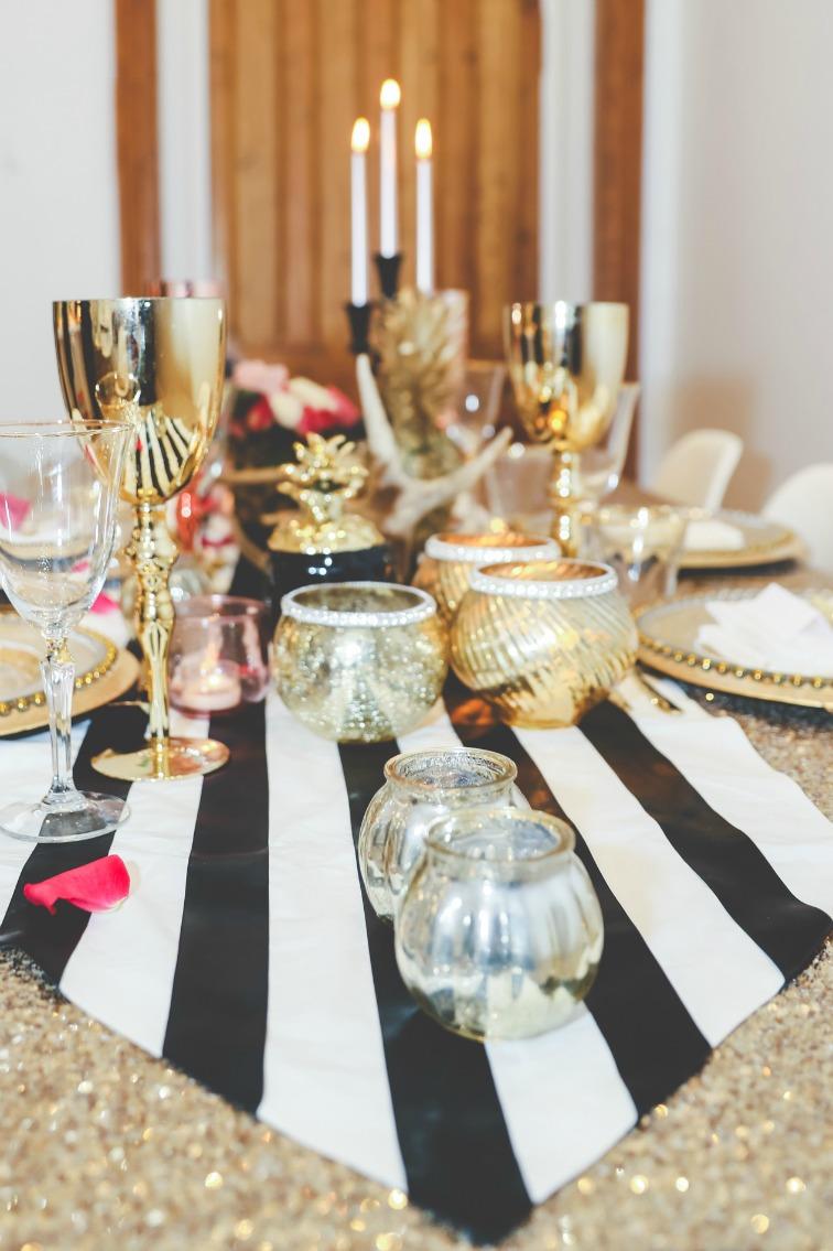 Gold wedding black and white .jpg