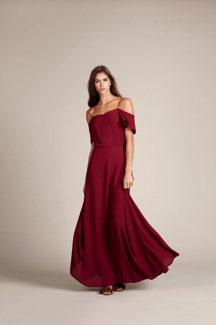 Rewritten Damn Cool Bridesmaid Dresses Burgandy.jpg