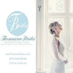 Thomasina Brides Something old, something new... Beautiful vintage and handcrafted bridal accessories from the heart of Derbyshire, UK. Bespoke service offered to make an accessory as unique as you are.