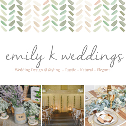 Emily K Weddings specialises in styling and creating your unique wedding day. By working with you, planning services and designs are tailored to your exact needs and wants, making your wedding day one of a kind and truly reflecting you and your dream wedding.