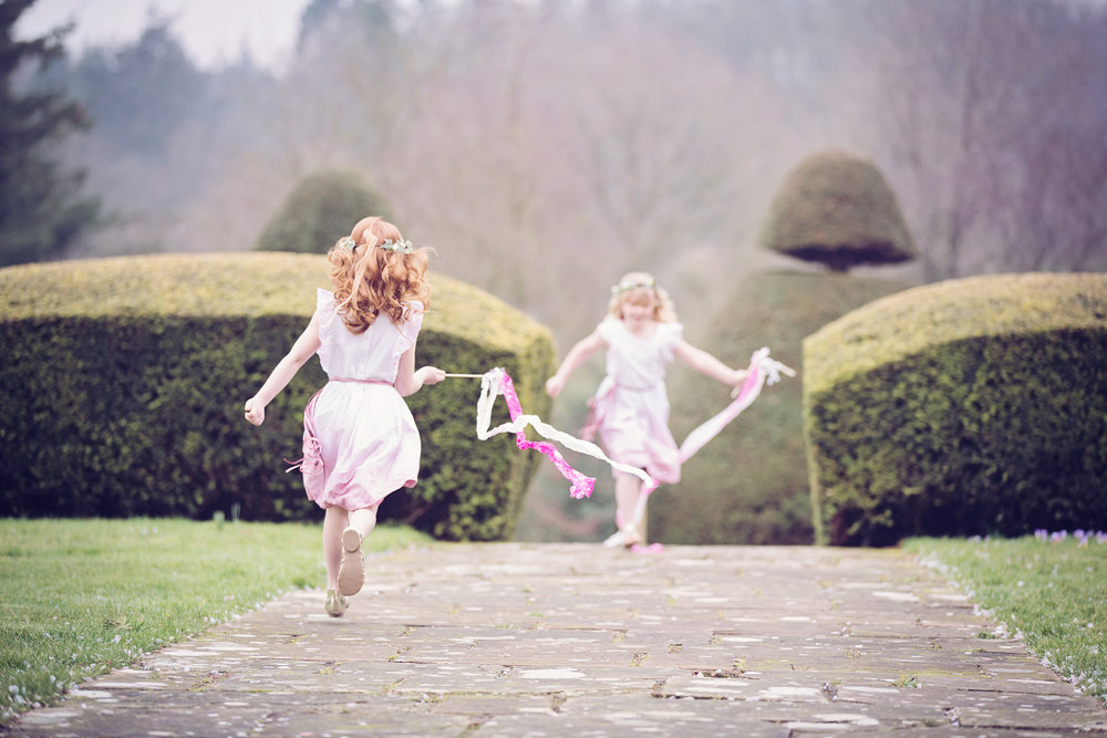 Fairy Wedding Inspiration Flower Girls