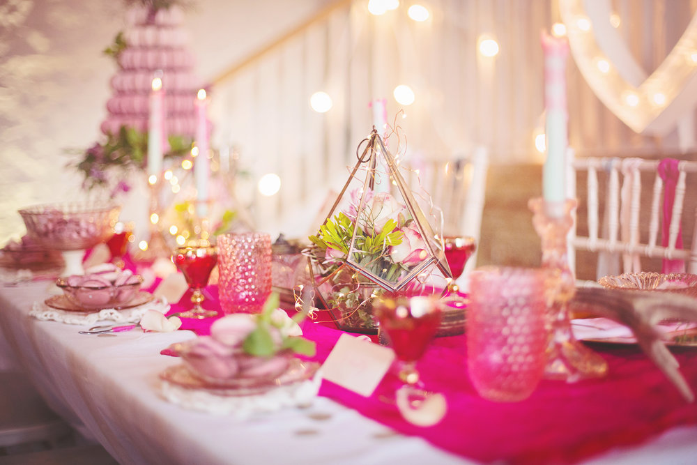 Pink Wedding Table Inspiration