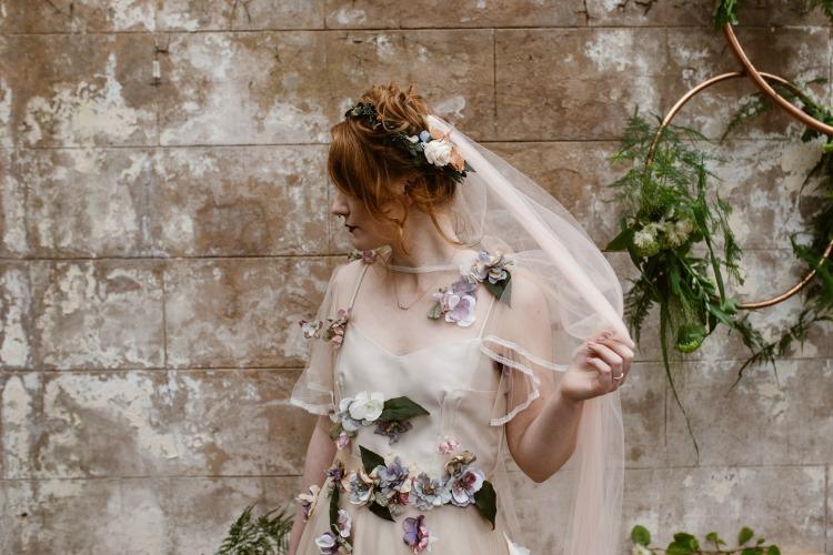 Agnes Black Liverpool wedding photographer bride with flowers and veil.jpg