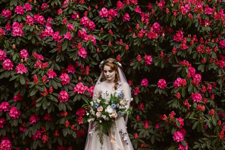 Agnes Black Liverpool wedding photographer bride with flowers.jpg