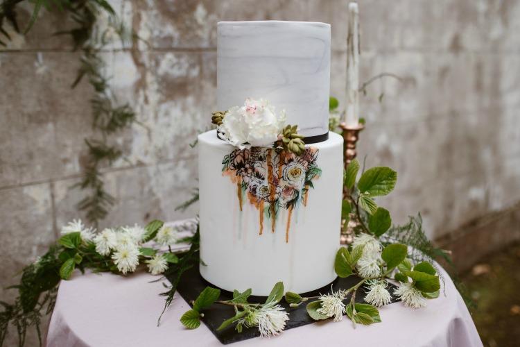 Agnes Black Liverpool wedding photographer contemporary wedding cake.jpg