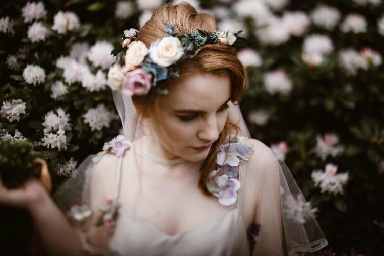 Agnes Black Liverpool wedding photographer floral crown bride.jpg
