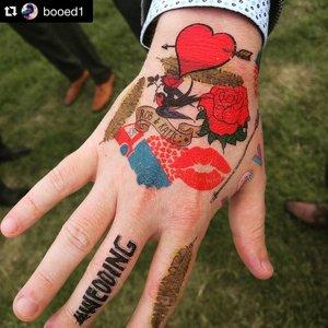 Temporary Tattoo Station |  Doris Loves