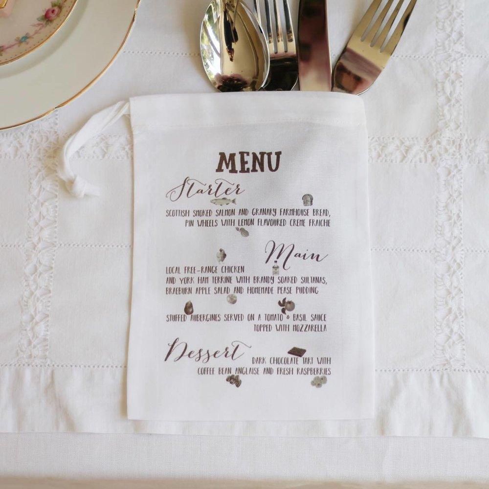 Personalised printed menu bag.jpg