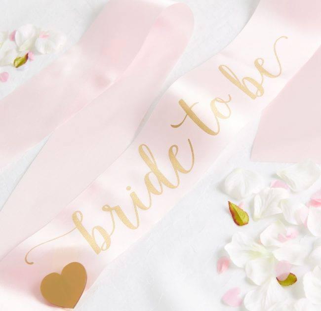Bride To Be Sash |  Team Hen