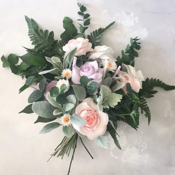 Paper Wedding Bouquet |  Paper Bea Company
