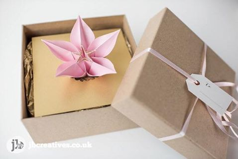 Origami Wedding Invites |  JB Creatives