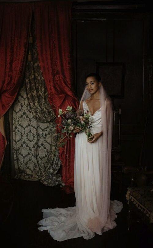 Gemma veil from Sash + Veil