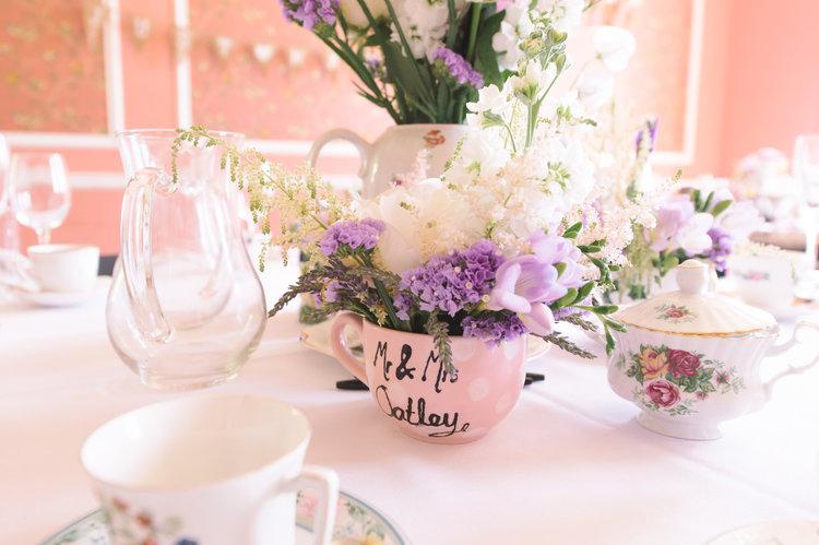 AFternoon tea wedding centrepieces.JPG