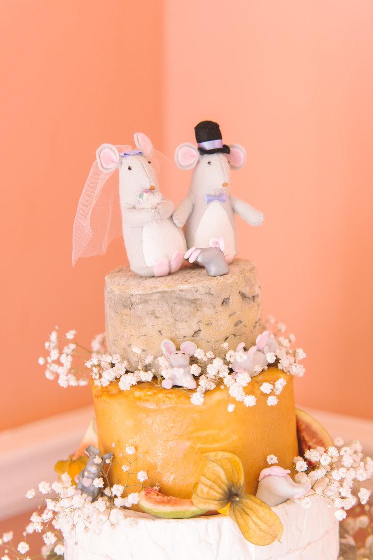 cheese tower weddng cake.JPG