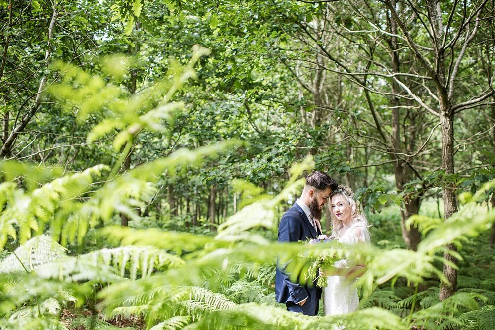 Bohemian Mermaid Woodland Wedding Inspiration