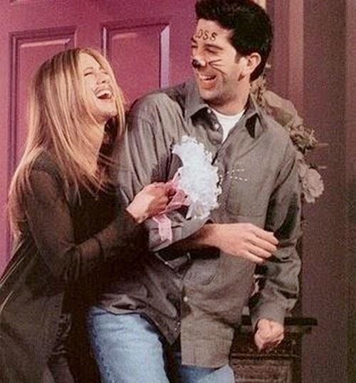 Ross Geller and Rachel Green Friends Vegas Wedding Inspo
