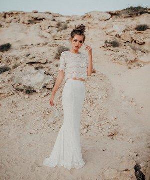 Luna Organic Lolita Wedding two piece Bridal Separates.jpg
