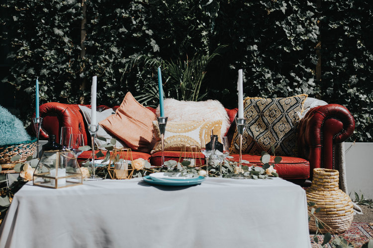 Mismatched Outdoor Decor Relaxed Wedding.jpg