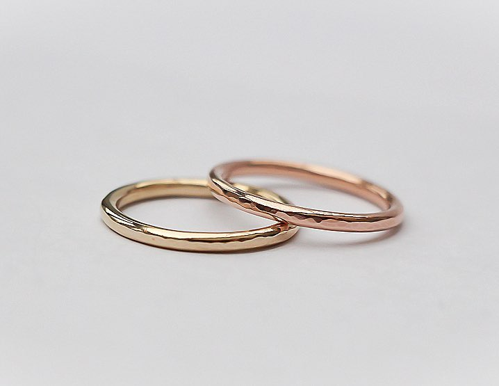 Handmade Wedding Bands  |  £125.00