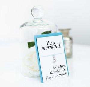 Be A Mermaid Wish Bracelet  | £3.75