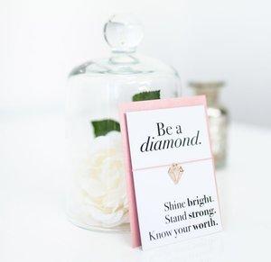Be A Diamond Wish Bracelet  | £3.75