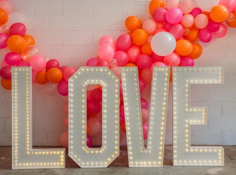 Light Up Letters - Doris Loves