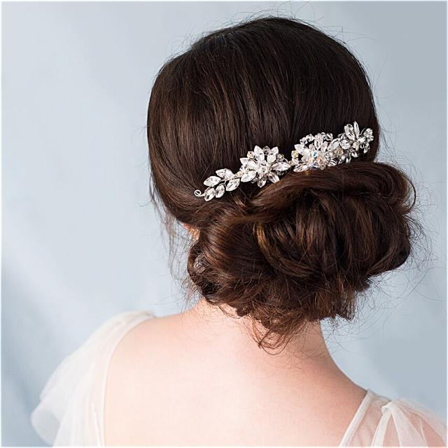 Isabella Crystal Bridal Headband | Glorious By Heidi | £100  .00