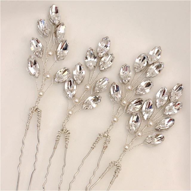 Sofia Swarovski Crystal & Pearl Hair Pin | Glorious By Heidi | £20.00