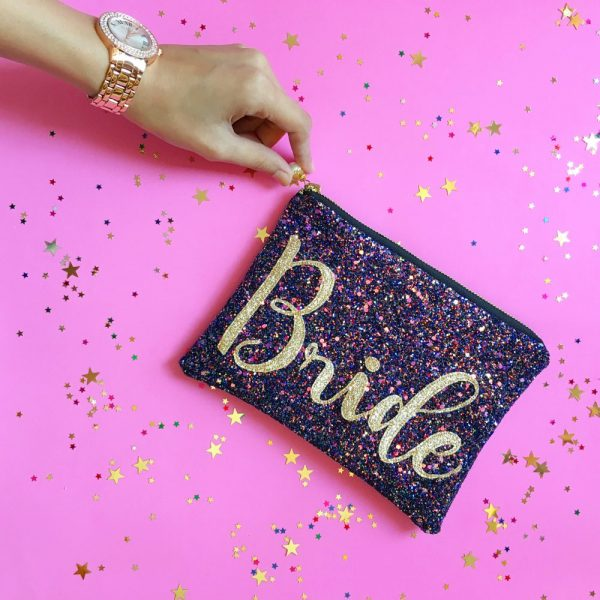 Bride Clutch Available In Custom Colours | Threaded | £35.00