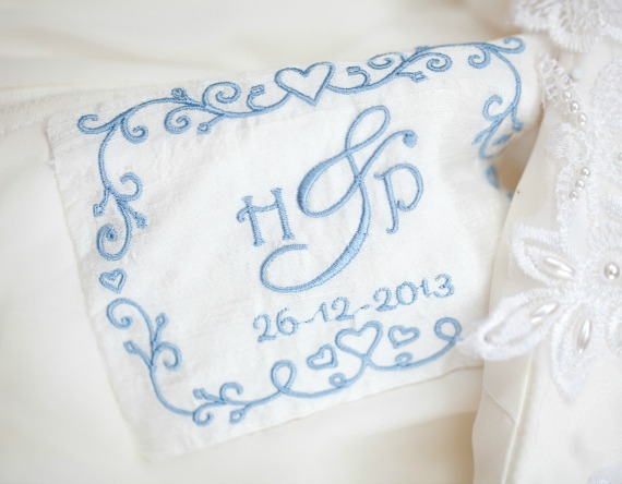 Personalised Wedding Dress Label | Extra Special Touch | £25.00