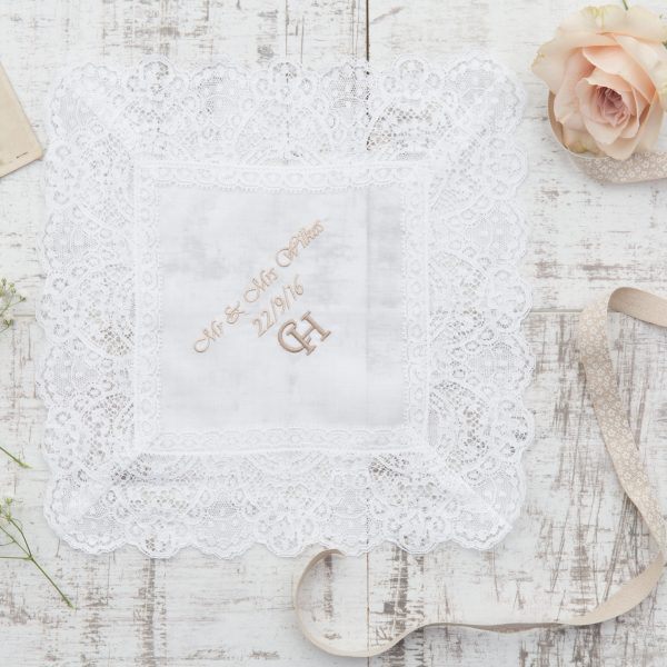 Personalised Ladies Handkerchief | Extra Special Touch | £65.00