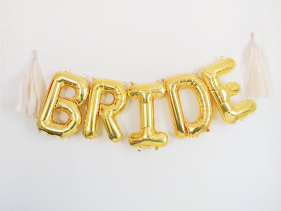 Bride Balloons | Team Hen | £10.00