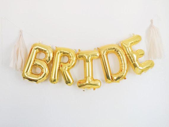 Bride Balloons | Team Hen | £10.00
