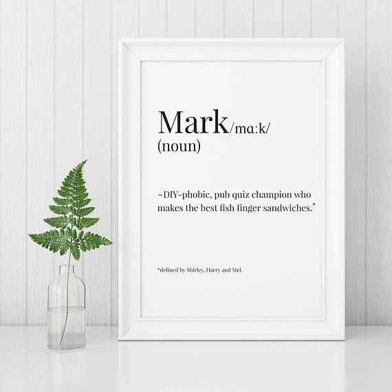 Personalised Print | £7.00