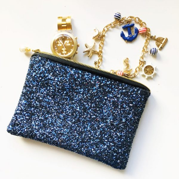 Blue Sparkle Clutch | £16.00