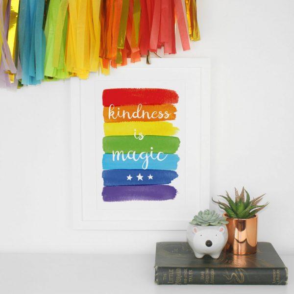 Kindness Is Magic Print | £12.00