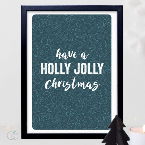 Have A Holly Jolly Christmas Print | £12.00
