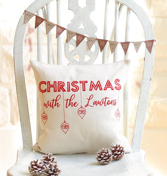 Personalised Christmas Cushion | £30.00